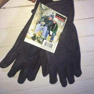 Other - Men's Polar Fleece Gloves Grey